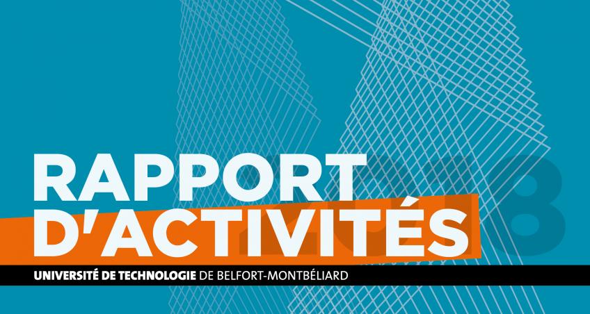 Le rapport d'activité 2018 de l'UTBM est en ligne