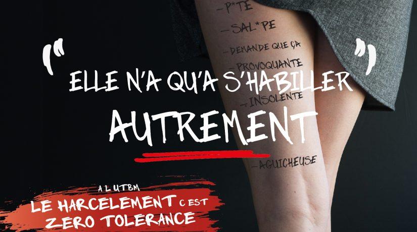 Harcèlement sexuel, à l'UTBM c'est zéro tolérance !