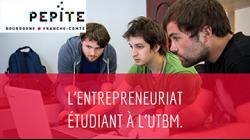 Les rendez-vous du PEPITE : l'entrepreneuriat étudiant à l'UTBM