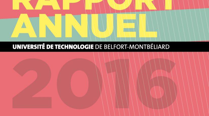 Le rapport d'activité 2016 de l'UTBM est en ligne