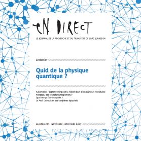 Parution d'en direct n°273 – Quid de la physique quantique ?