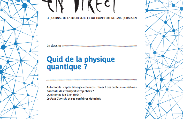 Parution d'en direct n°273 – Quid de la physique quantique ?