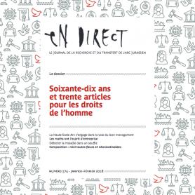 Parution d'en direct n°274 – Soixante-dix ans et trente articles pour les droits de l'homme