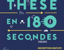 Ma thèse en 180 secondes : édition 2018