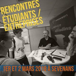 Rencontres étudiants / entreprises @ Campus de Sevenans