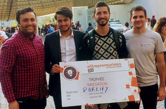 Prix de l'innovation pour une équipe UTBM aux Entrepreneuriales 2018