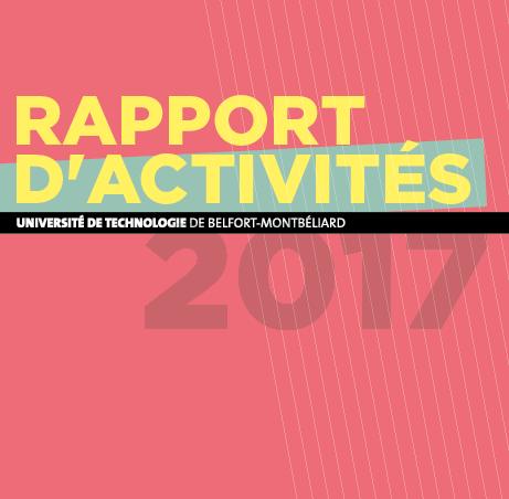 Le rapport d'activité 2017 de l'UTBM est en ligne