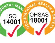 Renouvellement des certifications OHSAS 18001 et ISO 14001