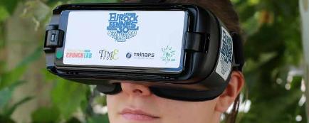 Retransmission à 360° d'un concert des Eurockéennes en centre de santé grâce à des casques immersifs