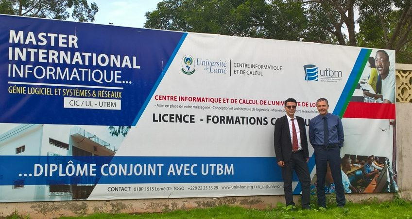 À Lomé, 9 étudiants reçoivent leur diplôme de master en informatique CIC / UL / UTBM