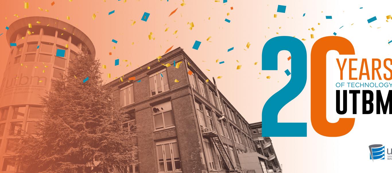 L'UTBM fête ses 20 ans