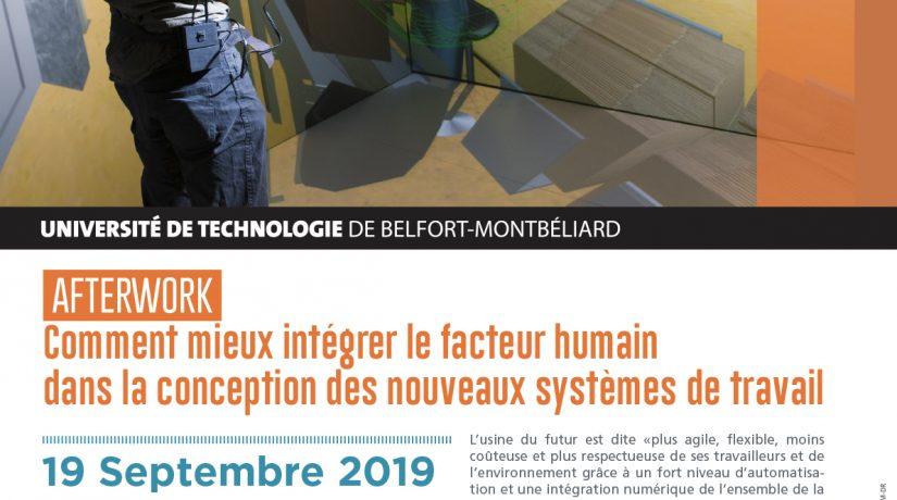 """Afterwork """"Comment mieux intégrer le facteur humain dans la conception des nouveaux systèmes de travail"""""""