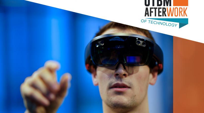 """Afterwork """"Réalité virtuelle et augmentée : du loisir vers le monde professionnel"""""""