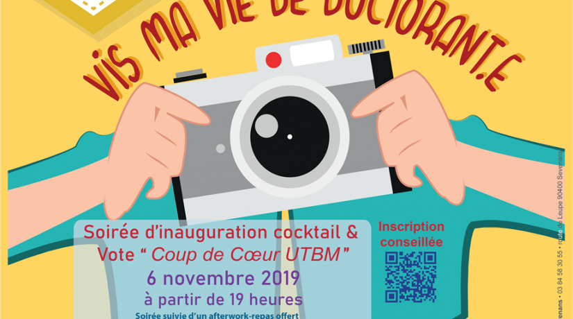 Expo photo/vernissage/afterwork – Vis ma vie de doctorant.e – Prix A'Doc 2019