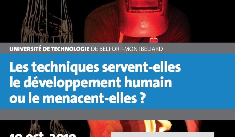 Conférence – Les techniques servent-elles le développement humain ou le menacent-elles ? Autour de la pièce Prométhée