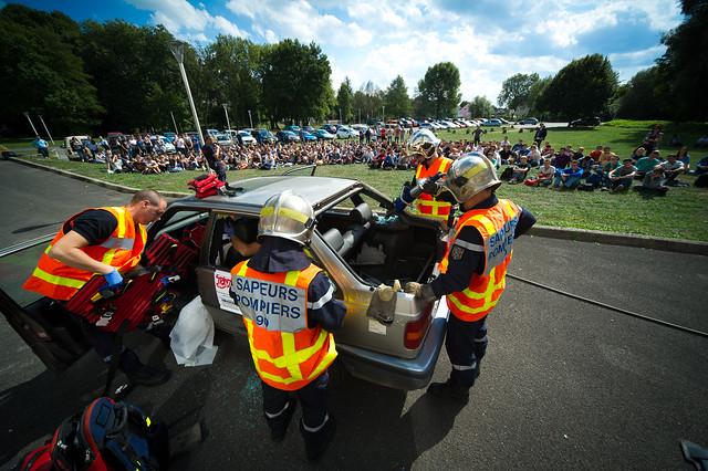 Le sens de la fête : journée de prévention routière à l'UTBM