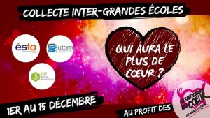 Challenge Inter-écoles - Collecte pour les restos du Coeur