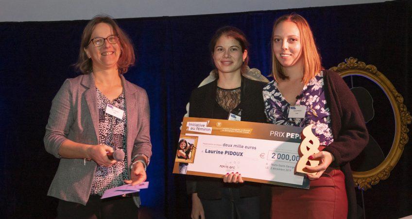 Une étudiante UTBM remporte le prix PEPITE « Initiative au Féminin »