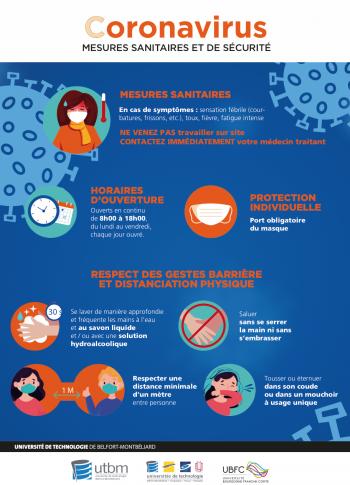 Affiche Coronavirus