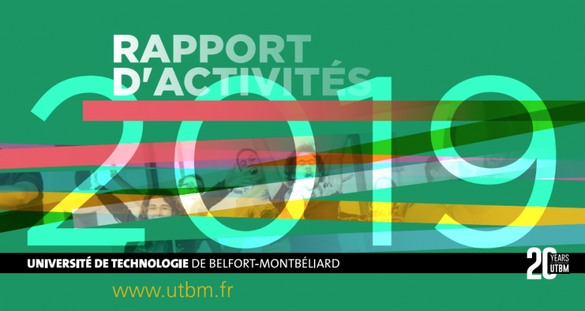 Le rapport d'activités 2019 de l'UTBM est en ligne