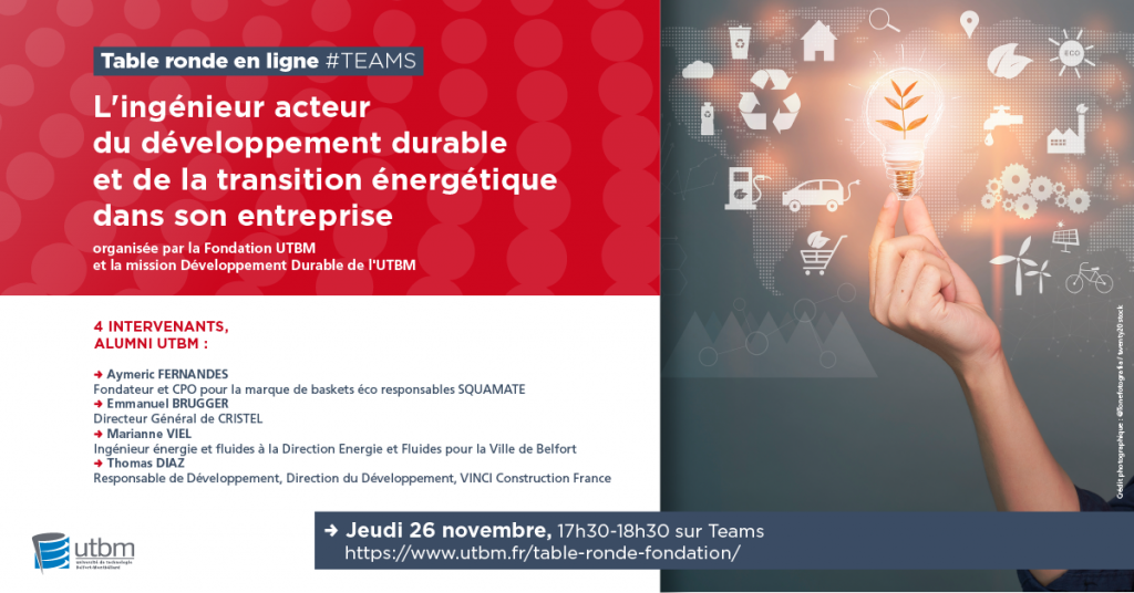 Agenda | Université de Technologie de Belfort Montbéliard (UTBM