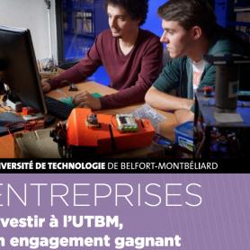 Taxe d'apprentissage : investir à l'UTBM, un pari gagnant