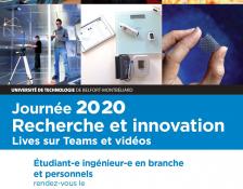 Journée 2020            Recherche et Innovation