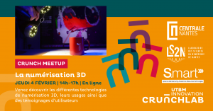 [Crunch Meetup] La numérisation 3D