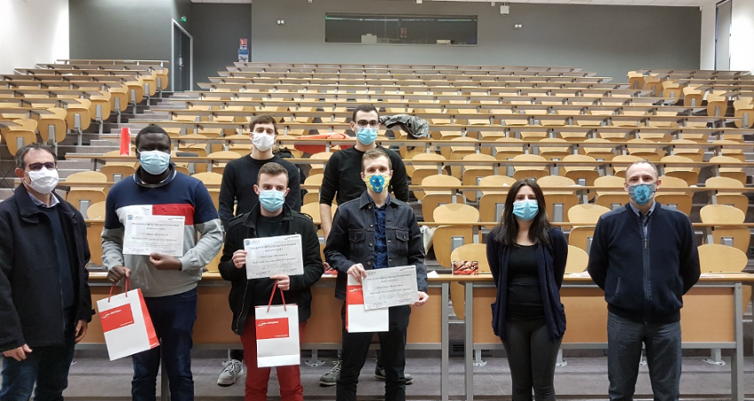 Remise de prix aux lauréats du Challenge Mécatronique Sonceboz