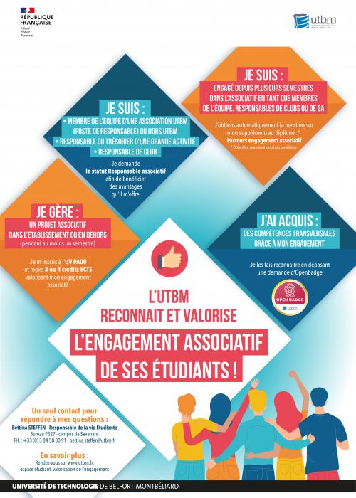 Engagement Associatif Affiche 2021