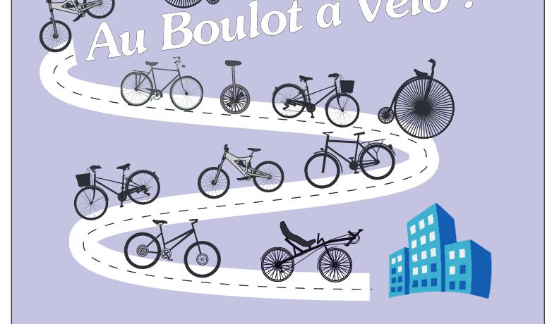 """Challenge """"Au boulot à vélo"""""""