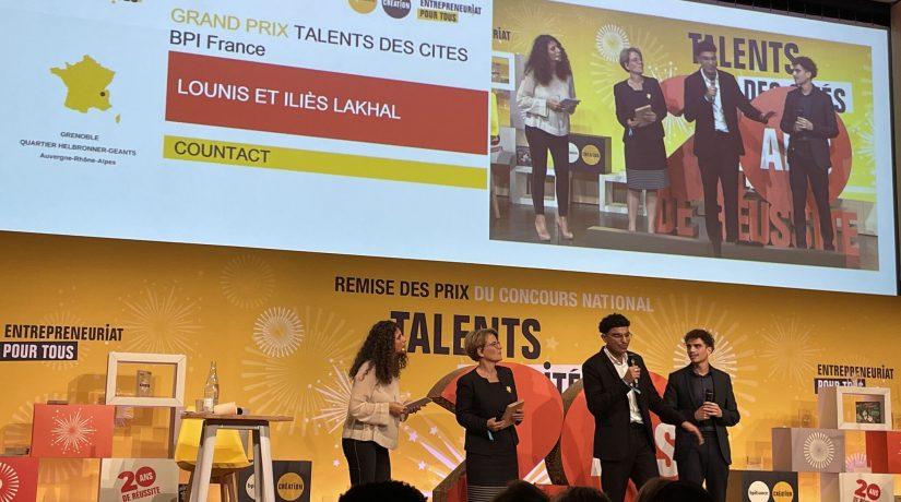 2 Prix pour le projet entrepreneurial d'un étudiant UTBM !